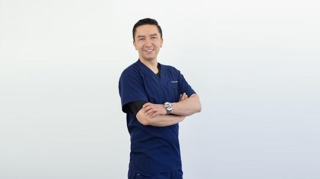 David Cabrera, m�dico especialista en Medicina Deportiva.