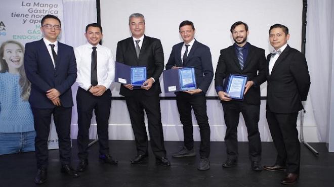 David Cabrera, Jonathan Jerez, Eduardo Grecco, Manoel Galvao Neto, Luiz Gustavo Quadros y Christian Benavides.