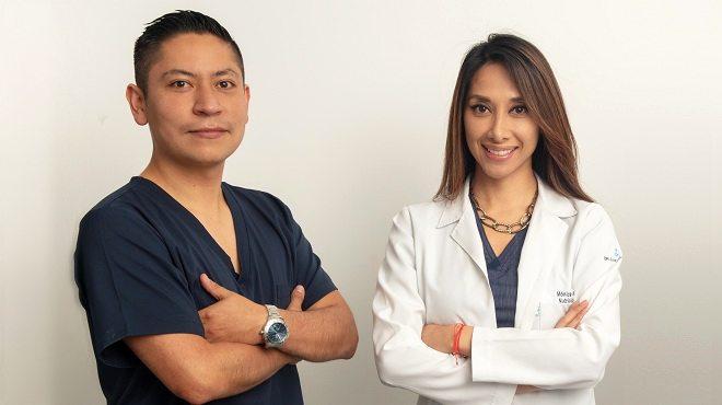 Christian Benavides, especialista en fisiolog�a deportiva, y M�nica Moreno, nutri�loga y especialista en nutrici�n deportiva.