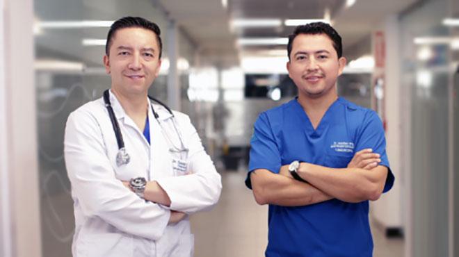 David Cabrera y Jonathan Jerez, especialistas en obesidad.