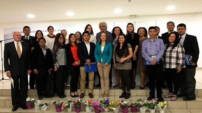 Miembros de la Coalici�n STEM Ecuador.