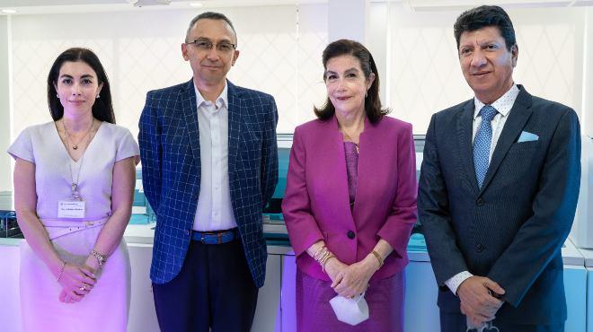 Adriana S�nchez, Oswaldo Rodr�guez, Sarita Espinosa de los Monteros y Gonzalo Arias.