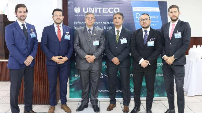 Esteban Torres, Santiago Castro, V�ctor Manuel �lvarez, Luis Humberto Hern�ndez, Pa�l Franco y Daniel Soto.