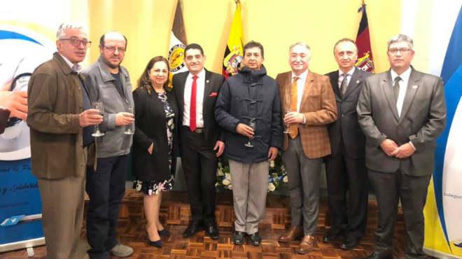 Inauguraci�n de la radio web 'Colegio de M�dicos de Pichincha'.