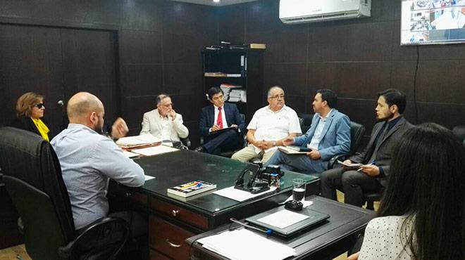 Miembros del Comit� y la CNA se reunieron en Guayaquil.
