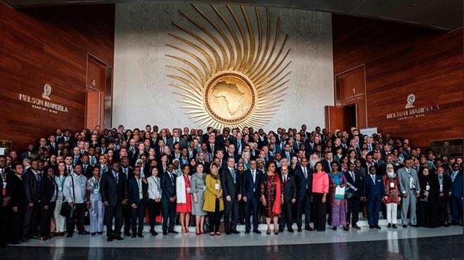 Asistentes de la I Conferencia Internacional en Inocuidad Alimentaria en Etiop�a.
