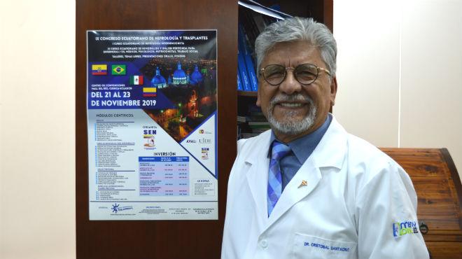 Crist�bal Santacruz, coordinador y tesorero de la SEN.