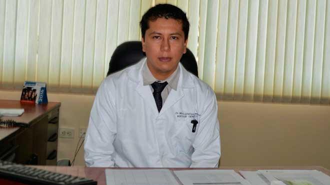 Cristian Ram�rez, asesor gen�tico del HTD.