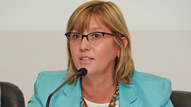Cristina Lustemberg, viceministra de Salud.