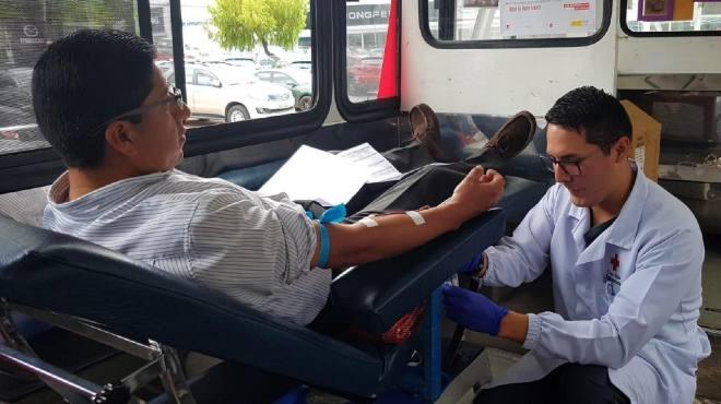 La instituci�n hace un llamado a la ciudadan�a para que done sangre.