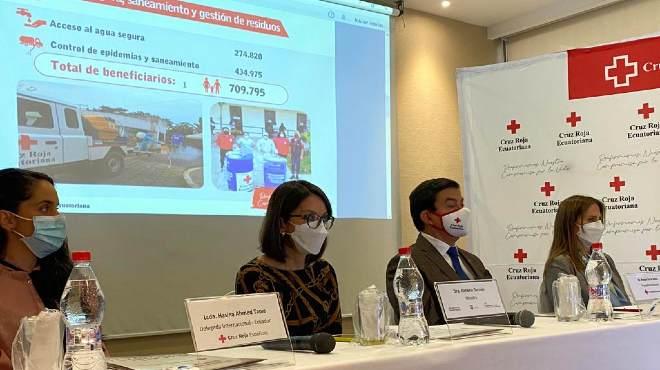 Rendici�n de cuentas de Cruz Roja Ecuatoriana.