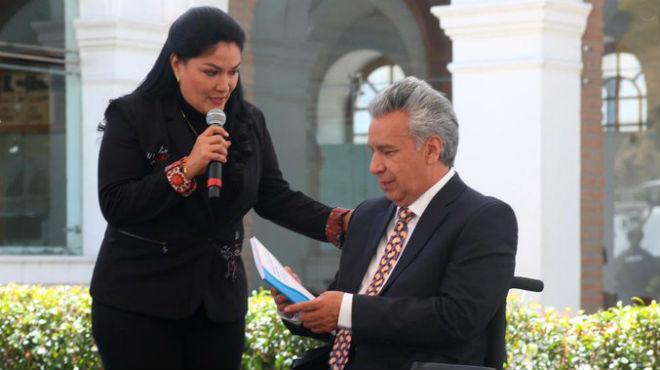Lenín Moreno recibe la décima revisión de actualización del CNMB.