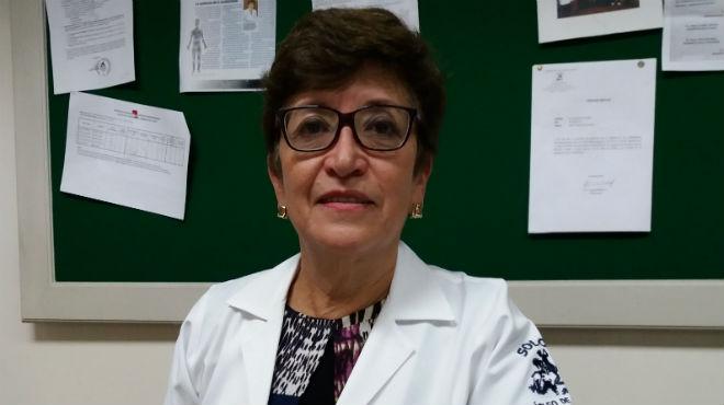 Patricia Cueva, coautora de la investigación.