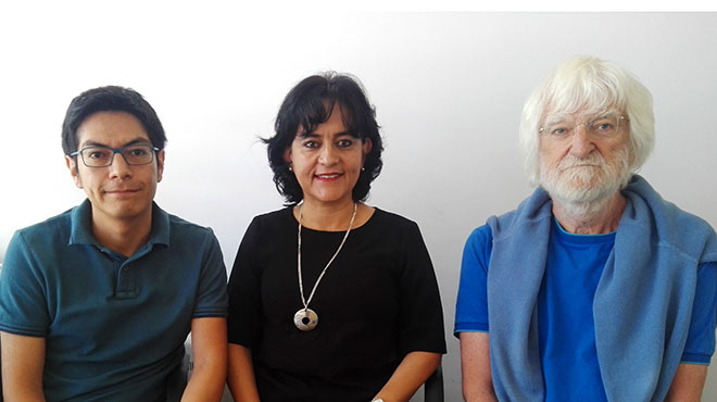 Wilmer Tarupi, María Luisa Félix e Yvan Lepage.