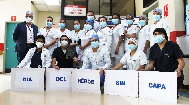 Personal sanitario del HJCA.