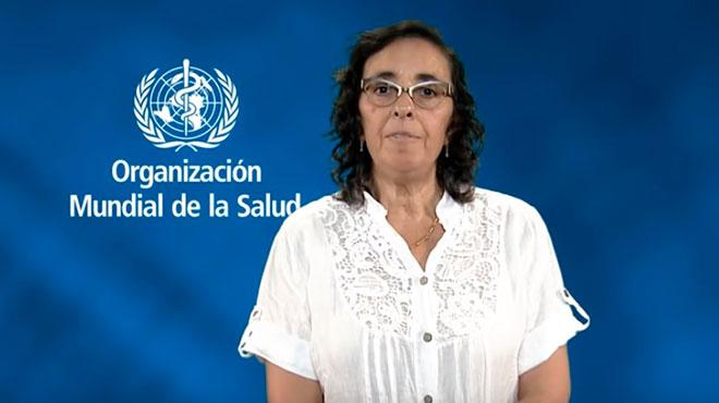D�vora Kestel, directora del Departamento de Salud Mental y Abuso de Sustancias de la OMS.