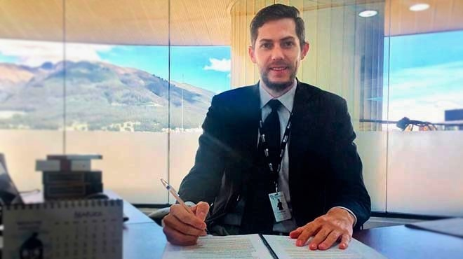 Daniel Soto, gerente general DS Legal Group Ecuador.