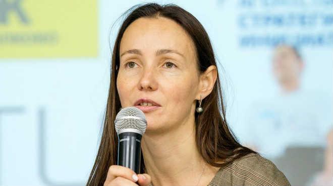 Ekaterina Berezi, cofundadora de ExoAtlet.