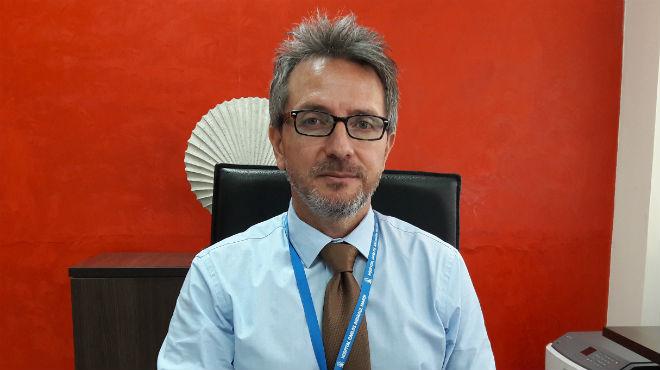 Daniel Rodr�guez, director general del HCAM.