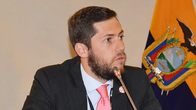 Daniel Soto, director de DS Legal Group Ecuador.