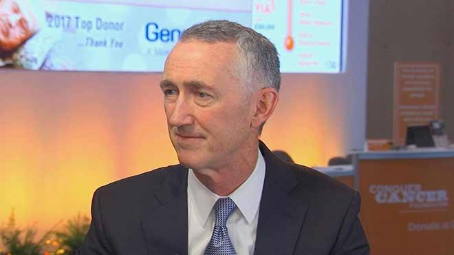 Daniel O'Day, consejero delegado de Roche Pharmaceuticals