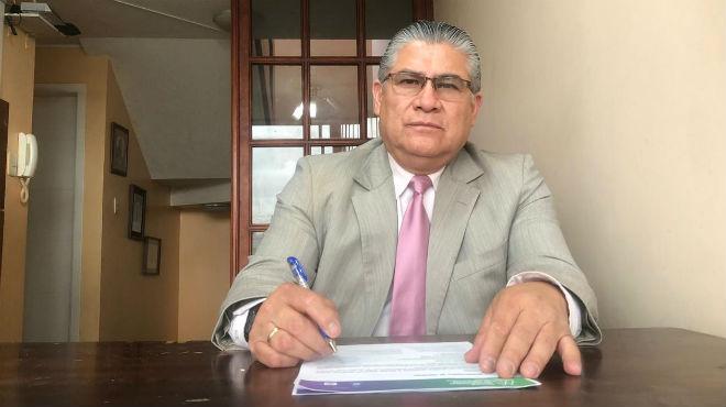 Darwin Ru�z Duarte, presidente de la Sociedad Ecuatoriana de Anestesiolog�a.