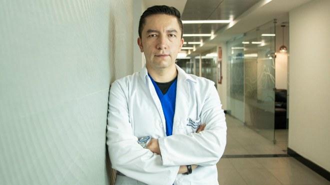 David Cabrera, m�dico deport�logo.