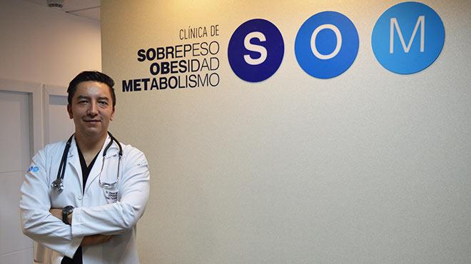 David Cabrera, director de la Cl�nica SOM.