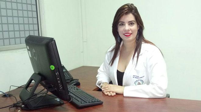 Daymari Campo Guerra, psic�loga del instituto.