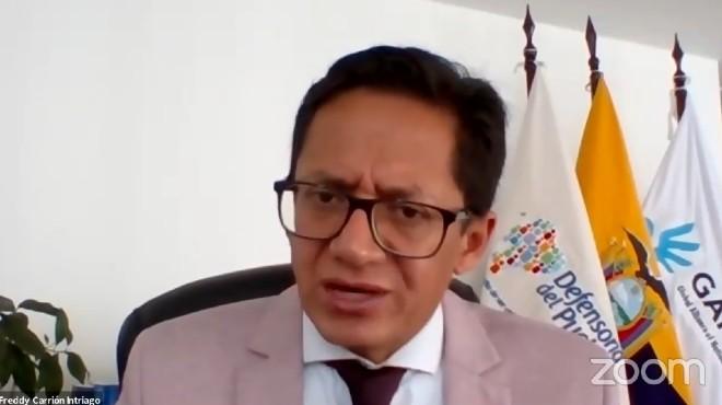 Freddy Carri�n, defensor del Pueblo.