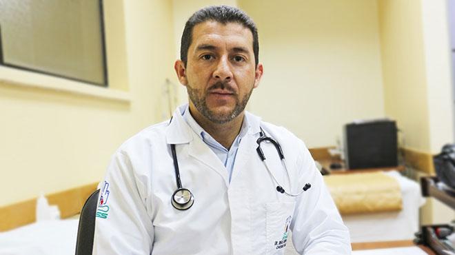 Diego Serrano, cardi�logo electrofisi�logo del HJCA