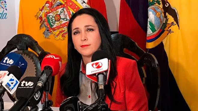 Dora Ord��ez, secretaria Anticorrupci�n.