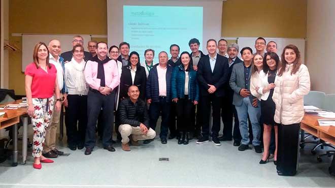 Profesionales colombianos que inician el programa Modelos de Atenci�n en la Enfermedad Cardiopulmonar Cr�nica de la Escuela Andaluza de Salud P�blica.