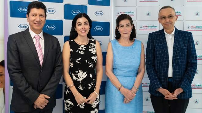 Oswaldo Arias, Adriana S�nchez, Sarita Espinosa de los Monteros y Oswaldo Rodr�guez.
