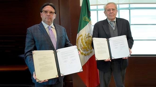 Enrique Ponce de Le�n y Jorge Alcocer Varela.