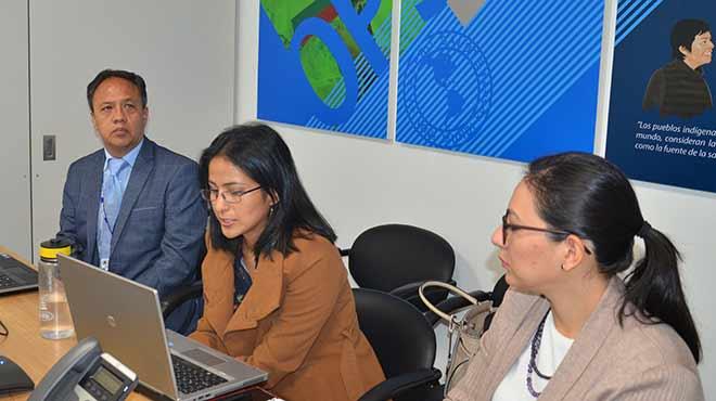 Roddy Camino, Ana Cristina Mena y Adriana Pav�n.