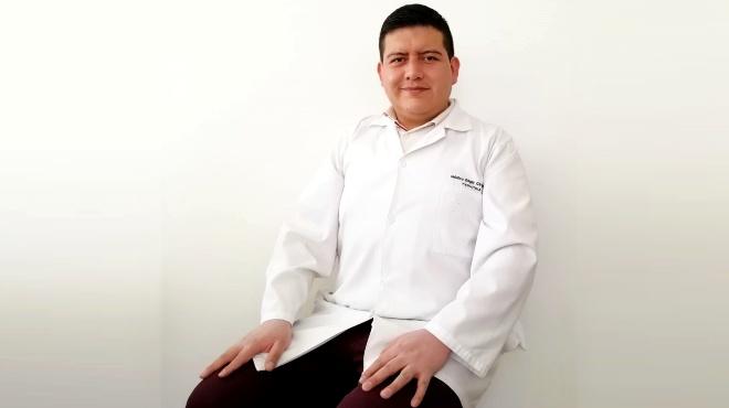 Edgar Gavilanes, líder del Servicio de Pediatría y Neonatología.