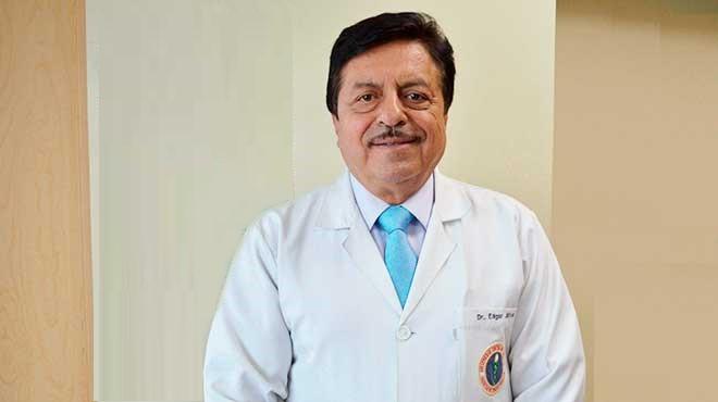 Edgar J�tiva Mari�o, presidente de II Congreso Internacional de Probi�ticos y Gastroenterolog�a Pedi�trica.