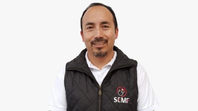 Edgar Le�n, presidente de la SEMF.