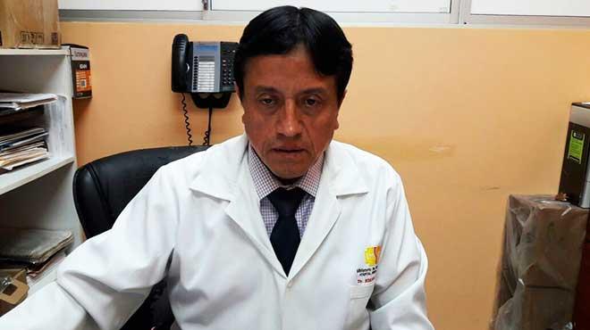 Edgar Espinoza, coordinador provincial de discapacidades del MSP en Morona Santiago.