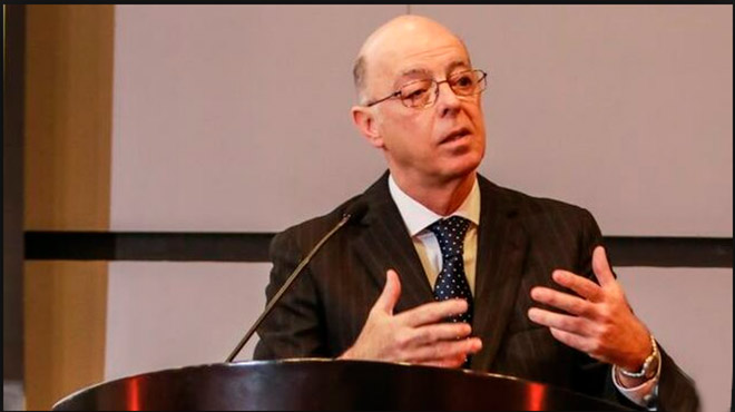 Eduardo Payet, jefe del Instituto Nacional de Enfermedades Neopl�sicas.