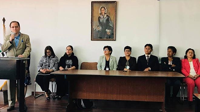 Inicio del proceso de autoevaluaci�n de la Carrera de Enfermer�a. Foto: Facultad de Ciencias M�dicas.
