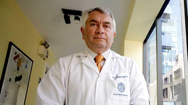 Enrique Paris, presidente nacional del Colegio M�dico en Chile