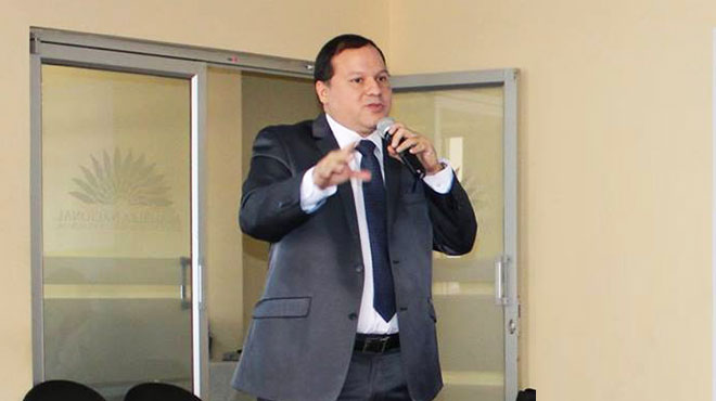 Ernesto Carrasco, presidente del CMG.