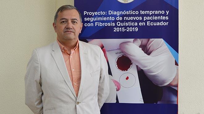 Fabricio Gonz�lez, director de la Unidad de Medicina Traslacional de la UCE.