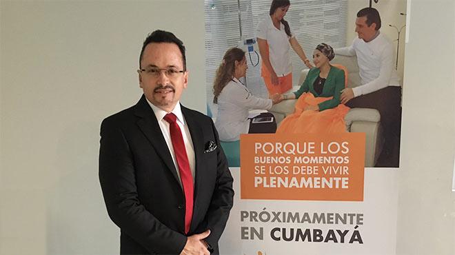 Fausto Puente, Gerente general de Life and Hope.