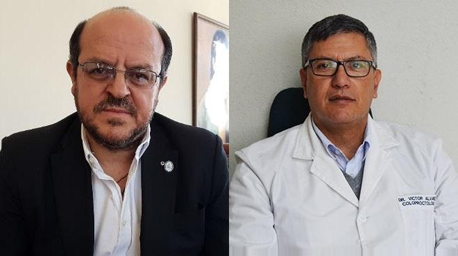 Santiago Carrasco y V�ctor �lvarez.