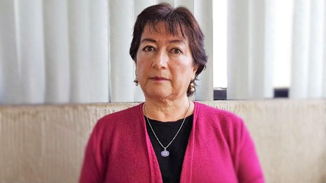 Virginia G�mez de la Torre, directora de Fundaci�n Desaf�o.