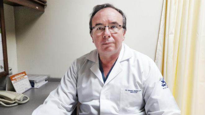 Fernando Endara Flores, ginec�logo tratante de SOLCA.