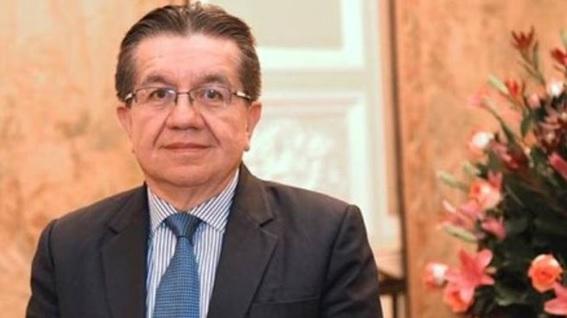 Fernando Ruiz G�mez, ministro de Salud.